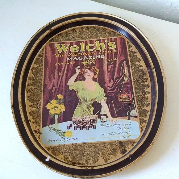 4/$10- Vintage Decor Tray
